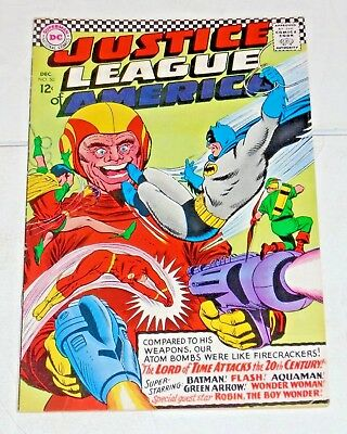 Justice League Of America #50 comic (FN+)