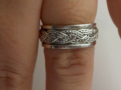 Silver Spinner Ring Metal Detecting Find
