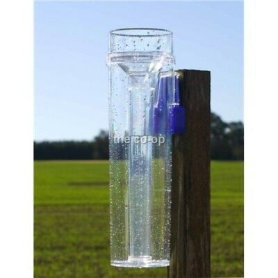 2 x Professional 280mm Rain Gauge Australian Made- Life Time Wty  Won't Yellow