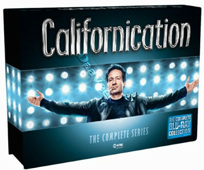 Californication (Complete Series) NEW Cult Blu-Ray 16-Disc Set David Duchovny