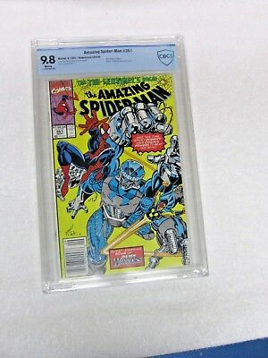 Amazing Spider-Man 351 CBCS 9.8 White Pages Mark Bagley Art Begins