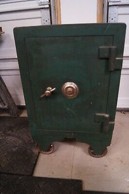 Antique Hall's Floor Safe, Cincinnati, Ohio