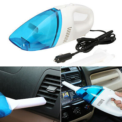 Mini 12V Portable Car Vehicle Auto Rechargeable Wet Dry Handheld Vacuum Cleaner