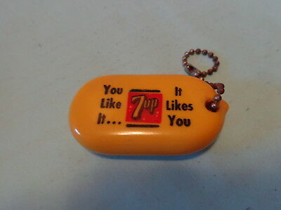 Seven Up 7 Up Coin Purse