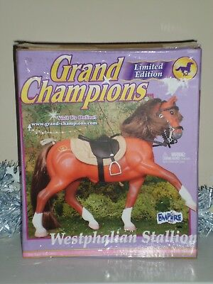 "NIB Grand Champions Model #50003 ""Westphalian Stallion"" Limited Edition Horse"