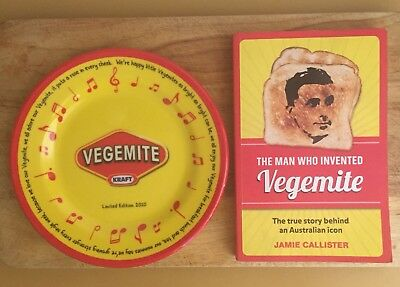 VEGEMITE Plate And Book