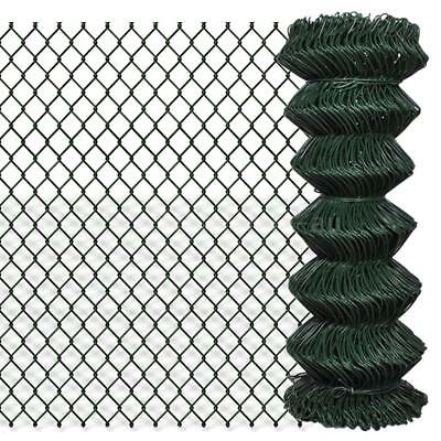 chain fence 1 x 15 m Green A4S5