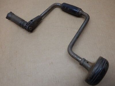 Antique Vintage Old! Hand Brace/Drill, P.S. & W. Co.