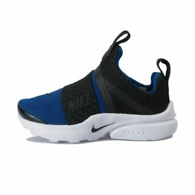 2f7cd2e4a63336 Nike Presto Extreme Toddler s Slip-On Shoes Blue Black White 870019 401 Sz6