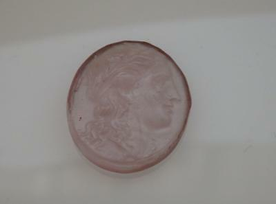 APOLLO light purple VENETIAN CAMEO*Tassie*Grand Tour*Loose unset TAGLIAMONTE