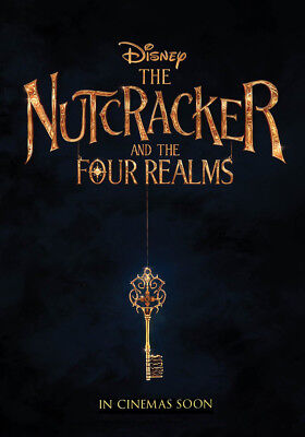 THE NUTCRACKER AND THE FOUR REALMS MOVIE POSTER 2 Sided ORIGINAL Advance 27x40