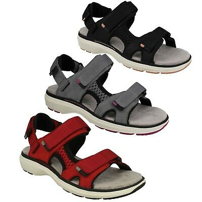 3b582478c20a Ladies Clarks Unstructured Leather Casual Sports Sandals Shoes Size Un Roam  Step