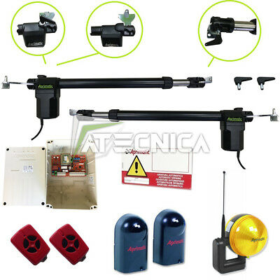 KIT gate automation swing compatible FAAC ECO Kit 412 APRIMATIC G-MATIC