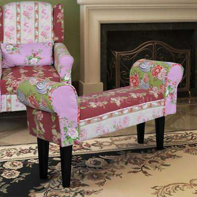 Bench Floral Style X2F6