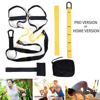 Suspension Training Belt Body Fitness Straps for Home Gym Exercise Bodyweight