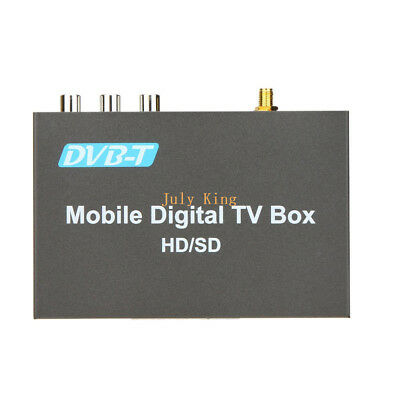 Single Car Digital DVB-T TV Receiver (HD/SD), MPEG-2, -4, With Burning,TimeShift