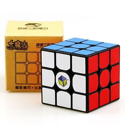 HMQC YuXin Little magic 3x3x3 Contest Magic Cube Twist Puzzle Toys Black 5.5CM