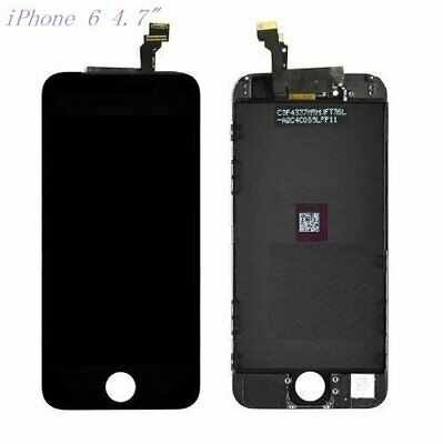 "For iPhone 6 4.7"" Assembly Digitizer LCD And Touch Display Screen Black"