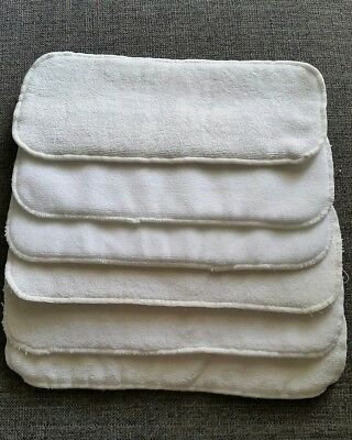 5 large cloth nappy inserts. For MCN.