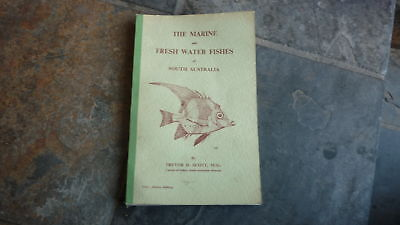 OLD 1960s MARINE & FRESH WATER FISH OF SOUTH AUSTRALIA SPECIES BOOK, 300+ PAGES