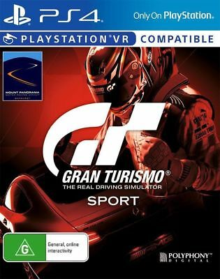 Gran Turismo Sport PS4 Playstation 4 BRAND NEW Free Delivery Australia wide