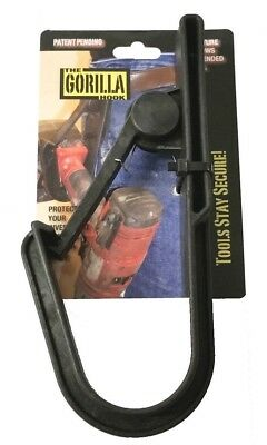 Gorilla Hook For Power Tools One-Handed Drill Holster for Scaffold Belt Hook
