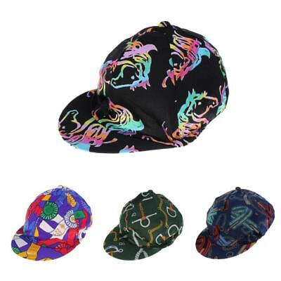 Soft Comfortable Horse Riding Helmet Hat Cover with Elastic Band Design