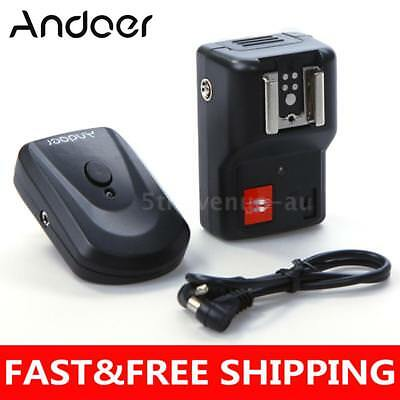 Andoer 4 Channels Wireless Remote Speedlite Flash Trigger for Canon Nikon Sigma