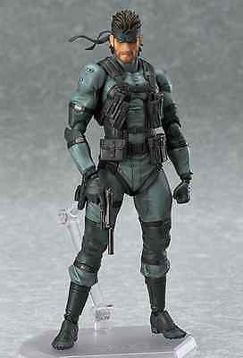 Action Figure Metal Gear Solid 2 16 Cm Snake Mgs2 Figma Version Statue 243 #1