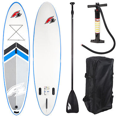 """F2 Sup Wave 2017 Stand Up Paddle Board 10,5"""" Messe Ausstellungsboard Komplett"""