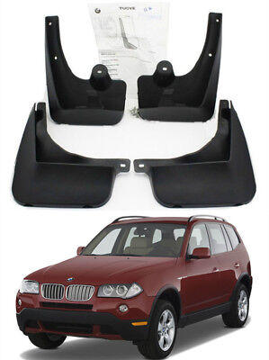OEM Sports Splash Guards Mud Guards Flaps 82160397556 FOR 2004-2010 BMW X3 E83