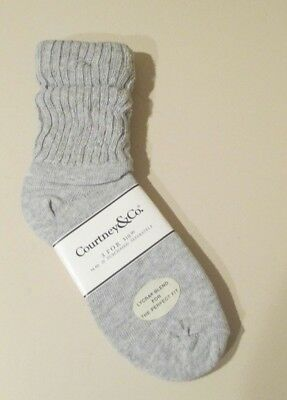 Vintage Courtney & Co. Women's Slouch Socks Size 9-11 Nwt