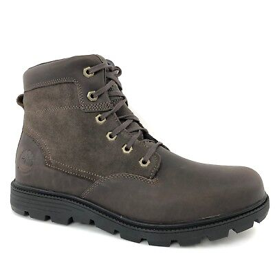 TIMBERLAND MEN'S WALDEN Park Dark Brown Leather 6 Inch Boots Style A1GSZ