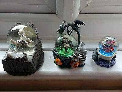 The nightmare before christmas snowglobes . rare. Disney