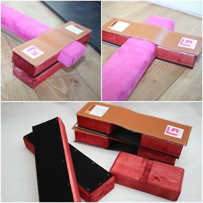 Folding Gymnastic Beam Stabiliser Blocks By Gym Factor
