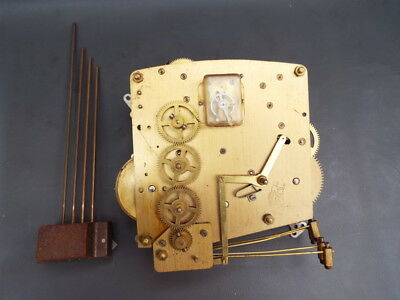 Vintage Perivale mantel clock movement and chime for repair or spares