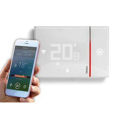 Bticino X8000 - Thermostat Programmable Encastrable Relié Smarther Wi-Fi.-