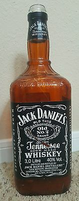 Jack Daniels Vintage Rare Discontinued First Generation 3 L Display Bottle Empty