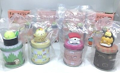 NEW SAN-X official sumikko gurashi Mini can case carrying a figure Out of print