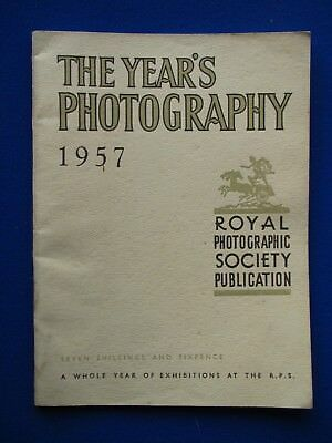 Royal Photographic Society: The Years Photography   1957