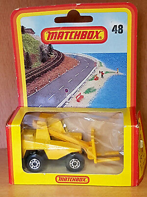 Matchbox Club Series 48 Gabelstrapler Lader  A Moko Lesney Product