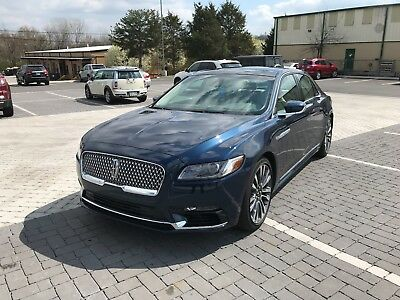 2017 Lincoln Continental cappuccino luxury leather Lincoln continental 400hp twin turbo