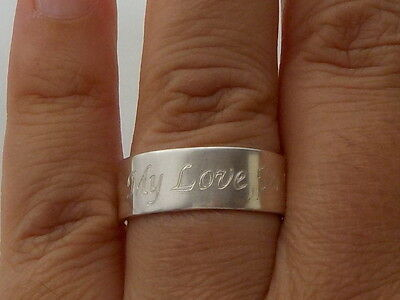 Silver Posy Ring Metal Detecting Find