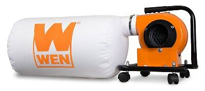 WEN 3401 5.7A 660 CFM Dust Collector with 12-Gallon Bag and Optional Wall Mount