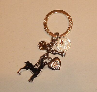 I Love Dogs Boston Terrier Key Chain    - New never used
