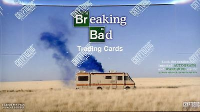 BREAKING BAD FACTORY SEALED BOX CARDS CARD  24 PACK Autograph Wardrobe Cards