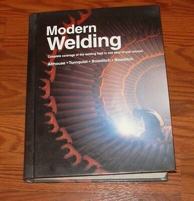 1997 Modern Welding Hardcover book by Althouse,Turnquist,Bowditch