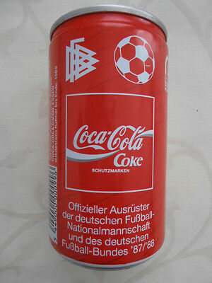 Coca Cola Dose DFB  BRD (1988) 0,33l Can Western Germany