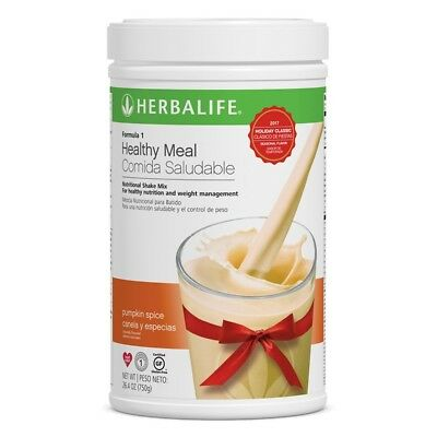 New Herbalife Formula 1 Shake Mix - PUMPKIN SPICE (750g) 26.4 Oz LIMITED EDITION