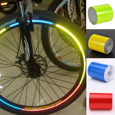 Reflective Warning Conspicuity Roll Adhesive Tape Film Car Vinyl Sticker 3M